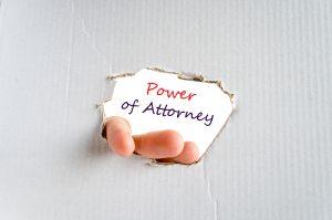 power of attorney lawyer