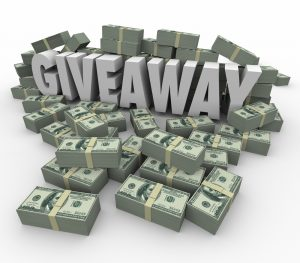 giving away money with estate planning